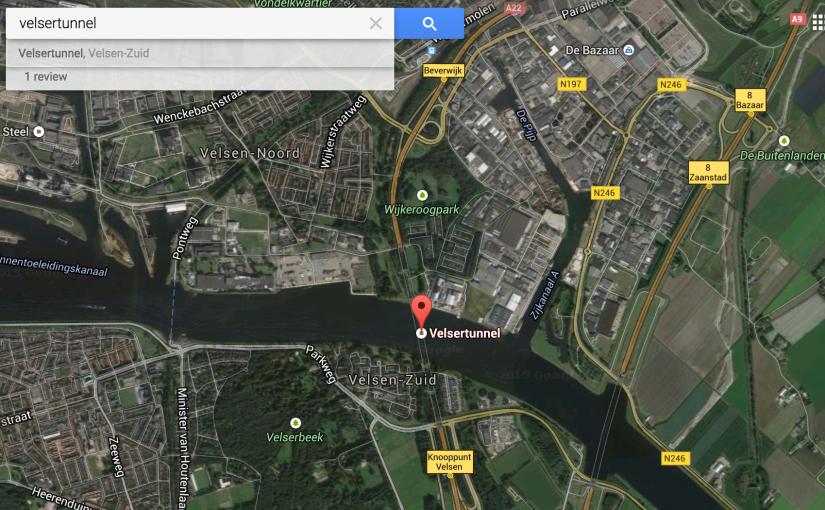 velsertunnel-google-maps