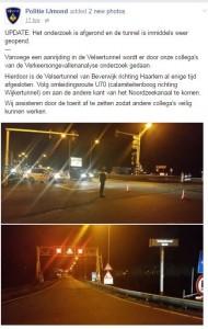 politie ijmond velsertunnel nieuws