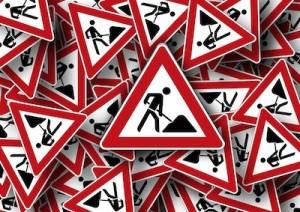 verkeer-wegwerkzaamheden-borden