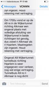 SMS-A9-Wijkertunnel